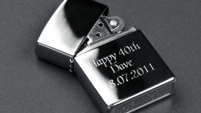 Зажигалка Zippo в подарок мужчине или парню