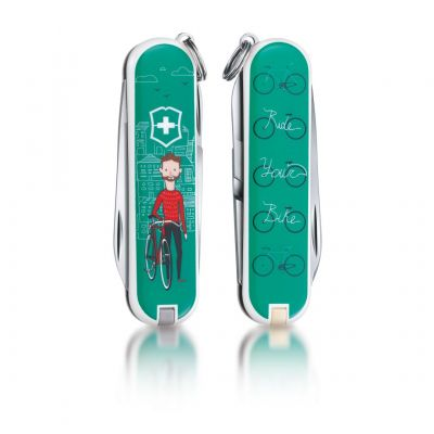"Нож-брелок Victorinox ""Ride your Bike"""