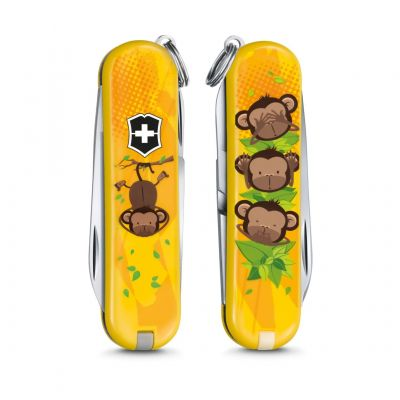"Нож-брелок Victorinox ""3 Wise Monkeys"""