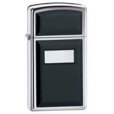 Zippo 1655 Slim Ultralite Black Emblem