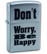 Zippo 200 Don'T Worry