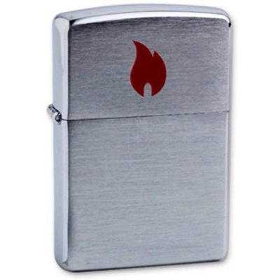 Zippo 200 Red Flame