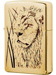 Zippo 204b Proud Lion