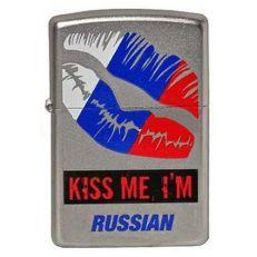 Zippo 205 Kiss Me Im Russian
