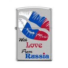 Zippo 205 With Love From Russia