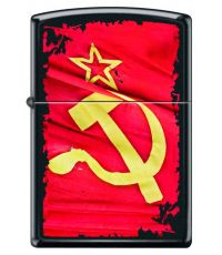 Zippo 218 Soviet Flag Sickle