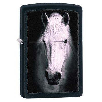 Zippo 218 Белая лошадь